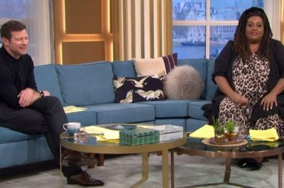 Dermot O'Leary and Alison Hammond This Morning