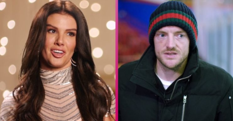 Rebekah Vardy and Jamie on Dancing On Ice