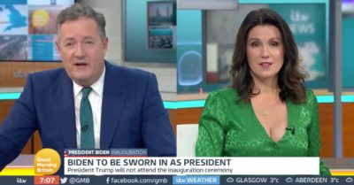 Susanna Reid hits back at Piers mMorgan after 'fat-shaming' jibe