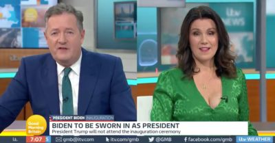 Piers Morgan accused of fat-shaming after he said co-host Susanna Reid has never been heavier