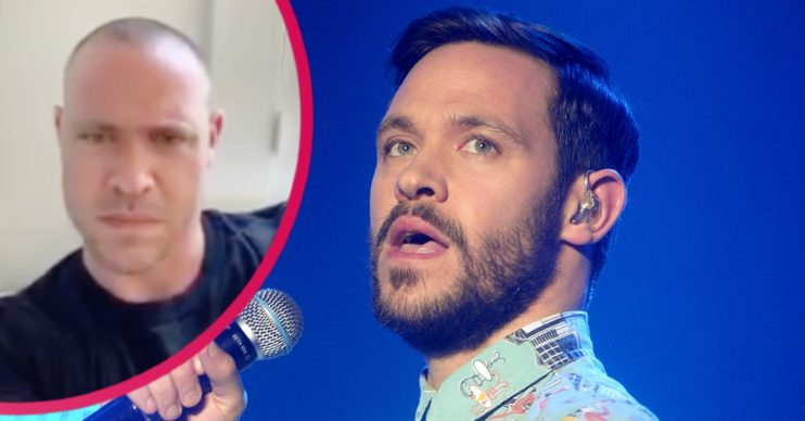 will Young and his brother