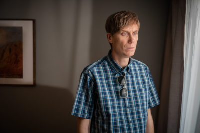 Stephen Merchant in Four Lives on BBC one