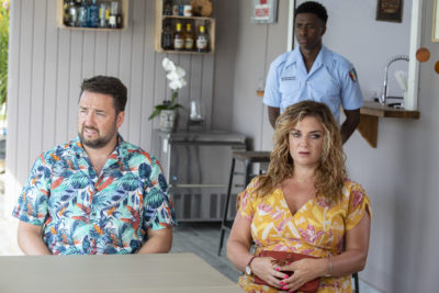 Jason Manford as Craig in Death in Paradise on BBC One