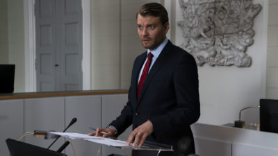 Pilou Asbæk stars in The Investigation