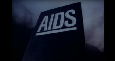 Aids advert (Credit: YouTube/BFI)