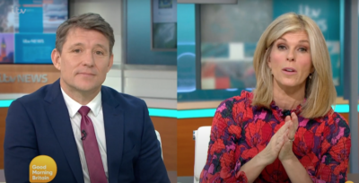 ben and Kate on GMB