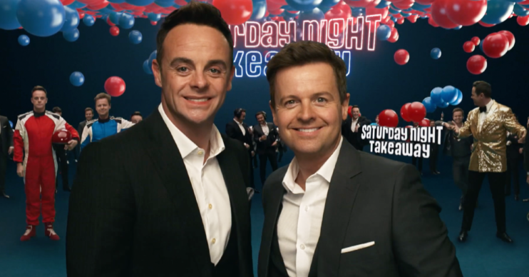 and and dec Saturday night takeaway