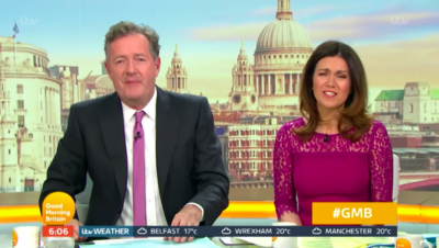 Piers Morgan today shared a glam snap of his mother on her birthday and fans went wild