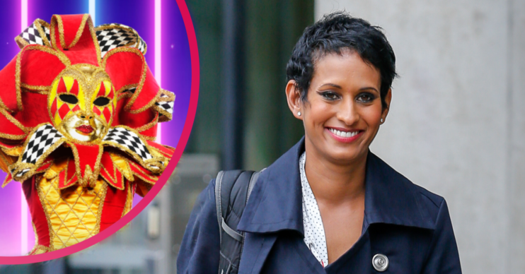 The Masked Singer UK viewers are convinced Naga Munchetty is Harlequin