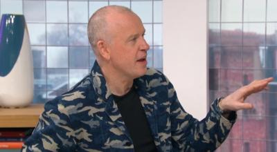 Sunday Brunch presenter Tim Lovejoy was mocked because of his jacket