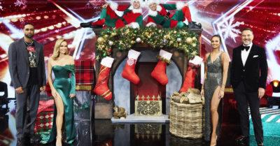 ashley banjo with bgt judges Christmas special