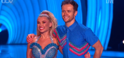Billie Faiers on Dancing On Ice