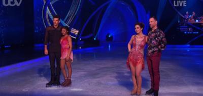 Myleene Klass leaves Dancing On Ice first