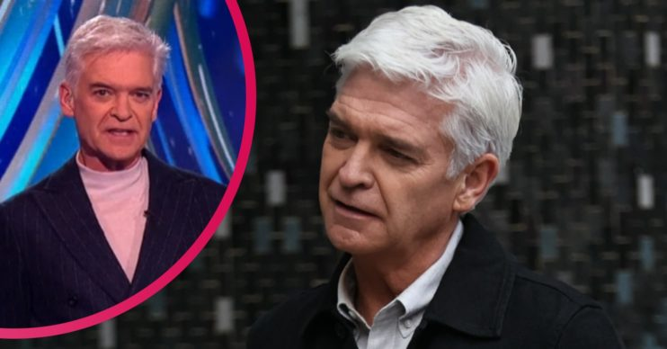 Phillip Schofield Dancing On Ice host