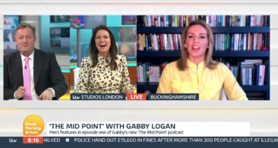Susanna Reid hits back at Piers Morgan after he 'fat-shamed' her