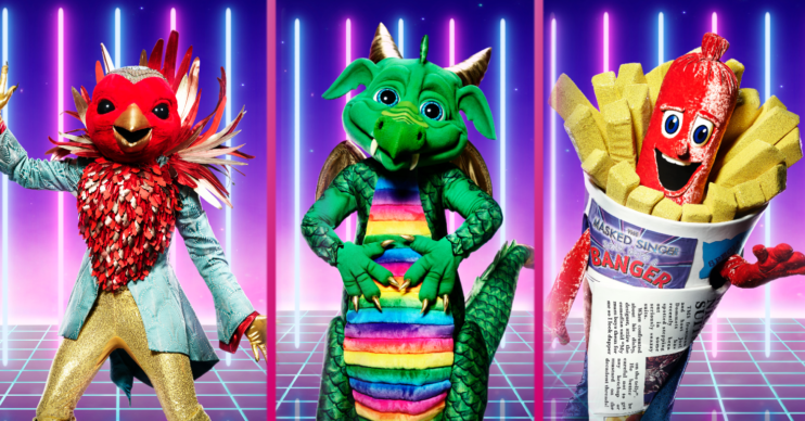 Bookies reveal their favourites for each character remaining in The Masked Singer