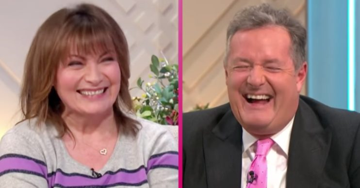 Lorraine Kelly and Piers Morgan