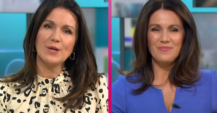 Susanna REid dress on GMB