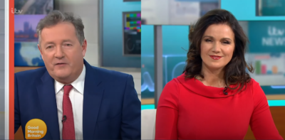 Piers Morgan for prime minister on GMB
