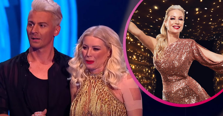 Denise Van Outen quits DAncing On Ice