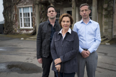 The Maguire family in Marcella series three
