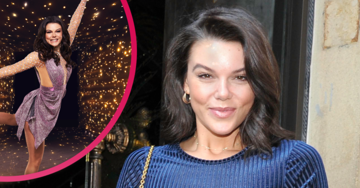 Faye Brookes could be 'kicked off' Dancing On Ice according to reports