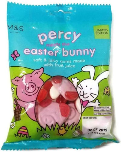 bag of percy pig sweets