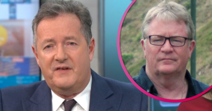 Piers Morgan and Jim Davidson