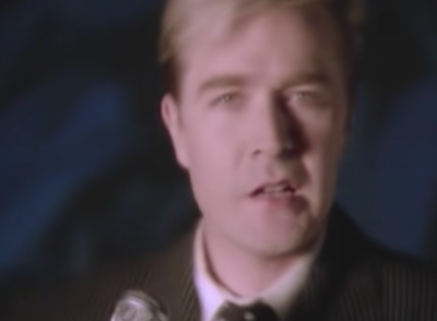 Martin Fry from ABC appears on Back In Time For The Corner Shop