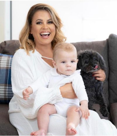 nadia essex and her baby