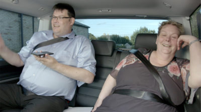 Mark Labbett and Anne Hegerty on The Chasers Road Trip