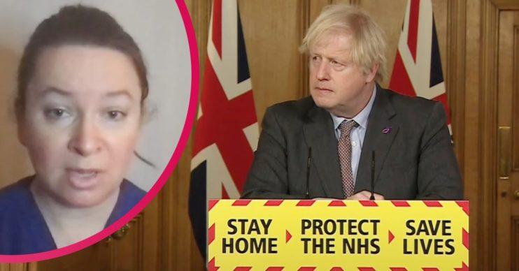 GMB doctor and Boris Johnson