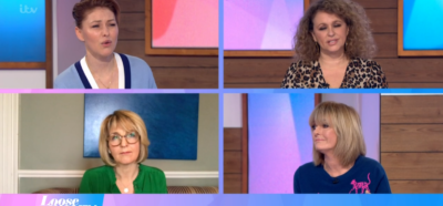 Emma Willis hosts Loose Women