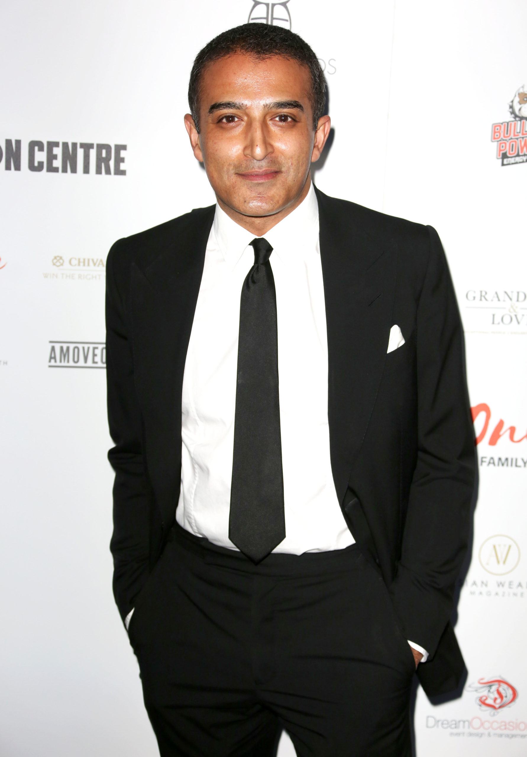 adil ray on the red carpet