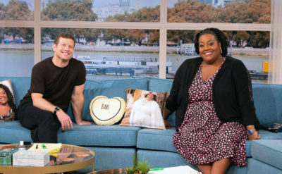 Alison and Dermot on this morning