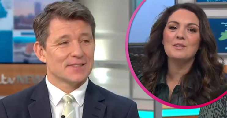 Ben Shephard Laura Tobin and Susanna Reid on GMB