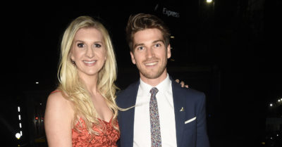 rebecca adlington with her boyfriend