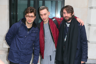 Olly and his Years & Years bandmates