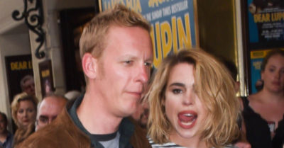 laurence fox with billie 2015