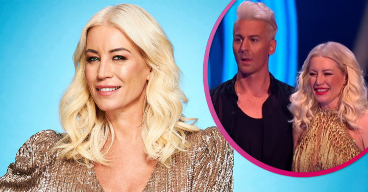 Denise Van Outen on Dancing on Ice