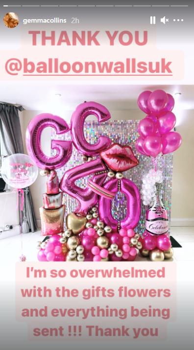 Gemma Collins birthday