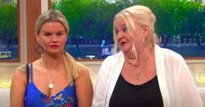 kerry katona with her mum sue