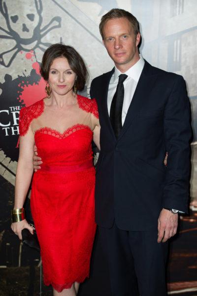 Rupert Penry-Jones and wife Dervla Kirwan