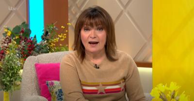 Lorraine Kelly on her show