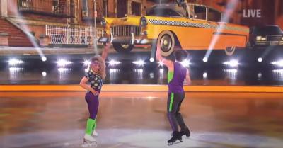 Amy Tinkler on Dancing On Ice