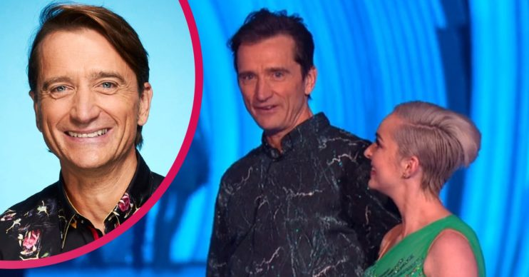 Skier Graham Bell on Dancing On Ice
