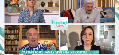 This Morning discuss latest on Captain Tom