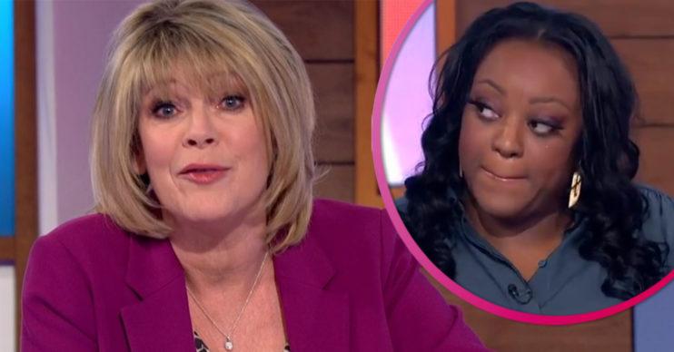 Ruth Langsford tears on Loose Women