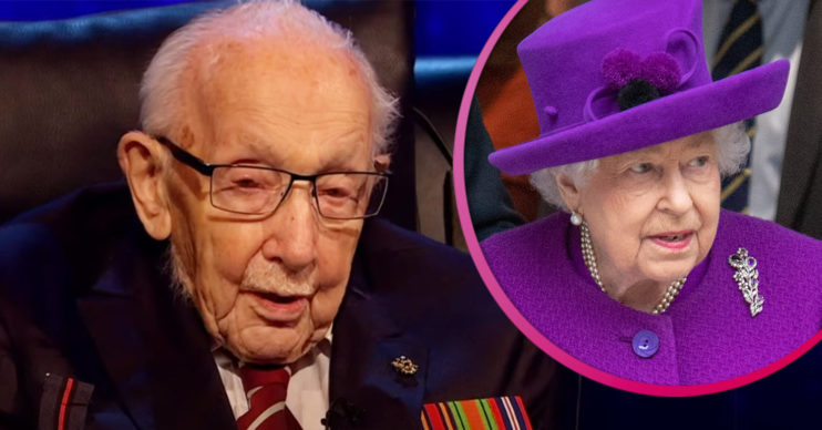 Captain Tom Moore death - Queen pays tribute