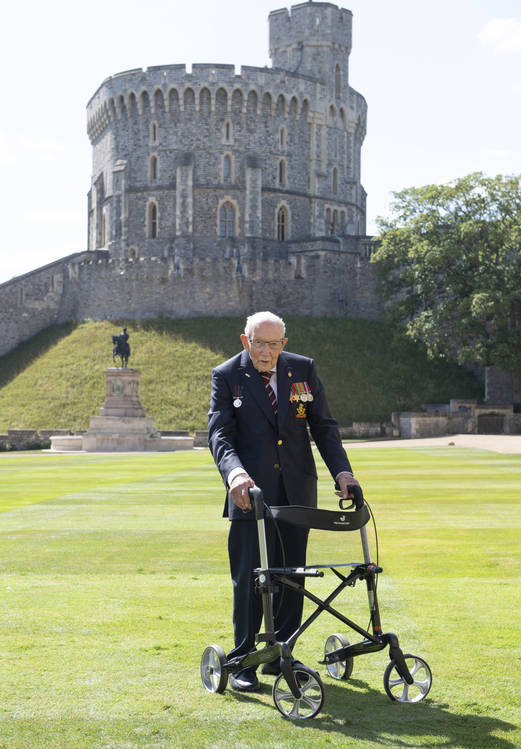 captain tom at Windsor castle
